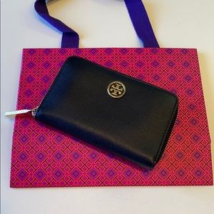 Tory Burch Black Small Wallet